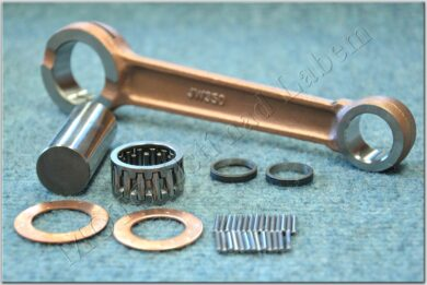 Connecting rod - pin 16, needle+side washer ( Jawa 350 )(010312)
