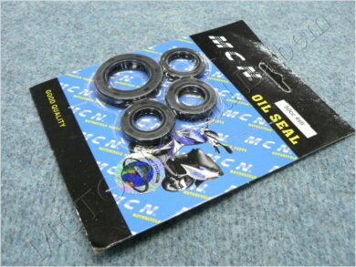Oil seal set, crankcase - set  4 pcs. ( ATV GY 50 )  (850217)