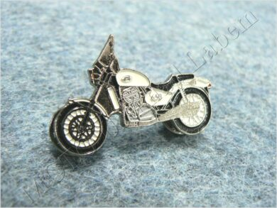 Pin badge JAWA 650 Classic (white)  (930273)