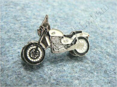 Pin badge JAWA 650 Classic (white)(930273)