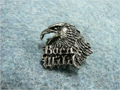Pin badge Eagle head ( Born Wild )  (930277)