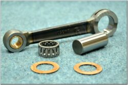 connecting rod complete - piston pin 15, bush (Jawa 350) DUELLS