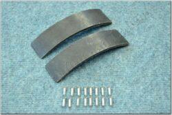 brake lining - set (Jawa, ČZ)