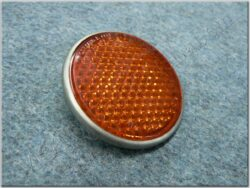 reflector round - orange (UNI) with screw