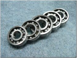 Engine bearings - set 5pcs. ( Jawa250 - 353,559,590,11 )