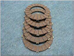 Disk, clutch friction, set 5pcs ( Panelka,634 )