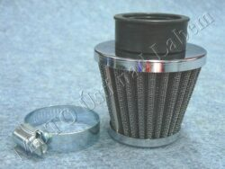 Air filter racing  D32, intake ( UNI,Jawa,ČZ ) cone big