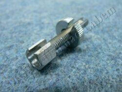 Bolt adjustment, cable M6x40 ( UNI )