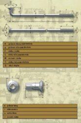"""Spoke M4-110 ( Kývačka 16"""" )(010349)"""