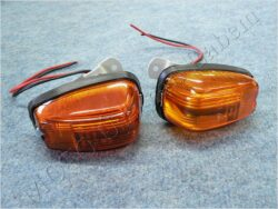 blikač zadní L+P ( Bizon ) č.9 [oranžové sklo]
