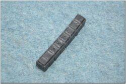 Damper rubber - 8 elements, head ( Jawa 638-640 )