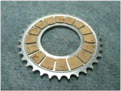 Disk, clutch friction ( Jawa,ČZ - 125,175 )