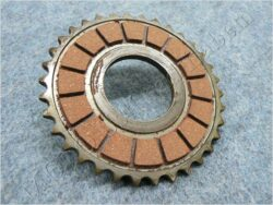 Disk, clutch friction ( Pio 550,555 )