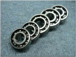 Engine bearings - set 5pcs. ( Pio 20-23 )