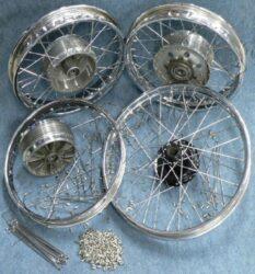 "Wheel renovation  C - 16x1,50"" ( Pionýr 555-23 )"