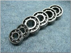 Engine bearings - set 6pcs. ( BAB 207 )