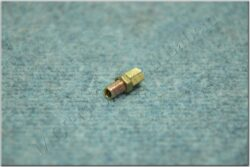 cable guide, screw + nut M6x0.75x15mm (BAB, Pio, Simson, MZ)