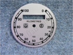ciferník tachometru 100 km ( ČZ B,T,C ) AP-ČZ