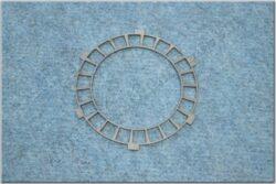 Disk,  clutch basic plate for fit cork ( ČZ - 125 B,T )