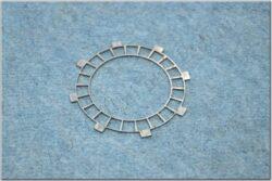 Disk, clutch basic plate for fit cork ( ČZ - 125,150 C )