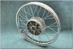 """wheel 18 """"x 1,60 - with seal ( ČZ 476,477 ) chrome"""
