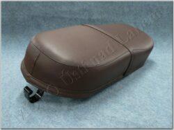 Seat cpl. - deep brown ( ČZ 501,502 )