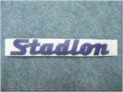 Sticker STADION - dark blue-black ( Stadion )