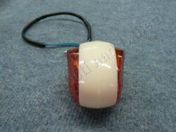 Turn signal light, oval ( Schwalbe ) [orange glass](550039)