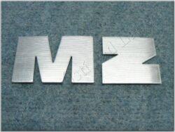 logo MZ - písmena na nádrž ( MZ - ETZ ) stříbrná