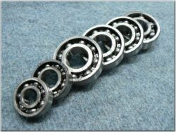 Engine bearings - set 6pcs. ( MZ 150 ETZ )
