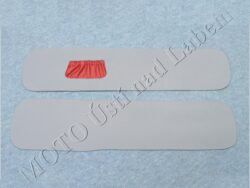 bočnice L+P - šedo červené ( Sajda )