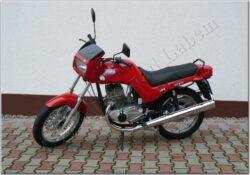 motocykl Jawa 350 / 640 Style - červený