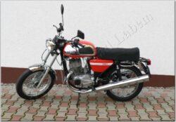 motocykl Jawa 350 / 634 Retro - červený