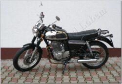motocykl Jawa 350 OHC/ 845 - černý