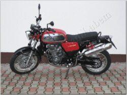 motocykl Jawa 660/ 836-6 Vintage  - červený