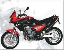 motocycle Jawa 660 Sportard Adenium - red