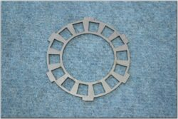 Disk, clutch basic plate for fit cork ( Scooter-Tatran,Manet )