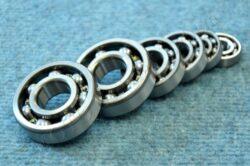 Engine bearings - set 6pcs. ( Manet/Tatran S 125 )