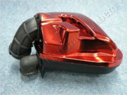 box sání - komplet, červený ( Yamaha, m.Minarelli )