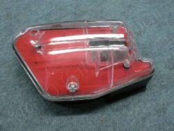 box sání - komplet červený ( Peugeot,MBK,m.Minarelli )