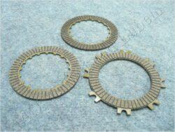 Disk, clutch friction, set 3pcs ( moto.China )