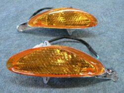 blikač do kapotáže L+P [oranžové sklo] (Keeway,Kentoya,Yuki) č.91