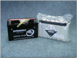 Battery assy. 12V 6Ah Dynavolt YTX7A-BS ( 150x87x93 )