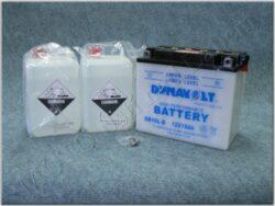 Battery assy. 12V 19Ah Dynavolst YB16L-B ( 185x100x155 )