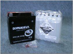 Battery assy. 12V 6Ah Dynavolt YTX7L-BS ( 112x69x130 )