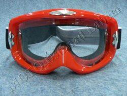 Motocross Goggle EA1 - red ( Motowell )