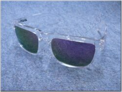 Motorcycle Goggle - violet glasses ( SHIRO )