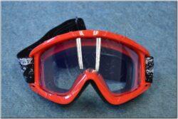 Motorcycle Goggle N1 Adult - red ( NOX )