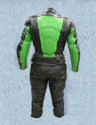Motorcycle suit B1121, green-black ( BEL ) Size L(880095)