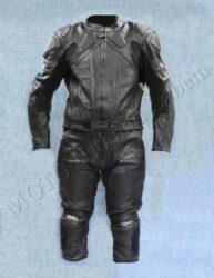 Motorcycle suit  B4046, black ( BEL ) Size M